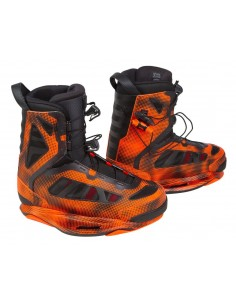 Botas Wakeboard Ronix Parks Boot - Electric Orange - Intuition - 2017