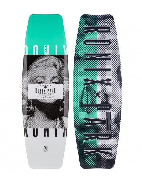 """2017 Ronix Press Play - ATR """"S"""" Edition Wakeboard + Divide boots wakepark Package"""