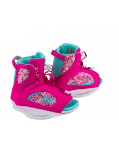 Botas Wakeboard Mujer Ronix Luxe Boot - Pink / Mint 2018