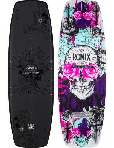 Ronix Quarter 'Til Midnight SF 2017 Wakeboard Barco Mujer