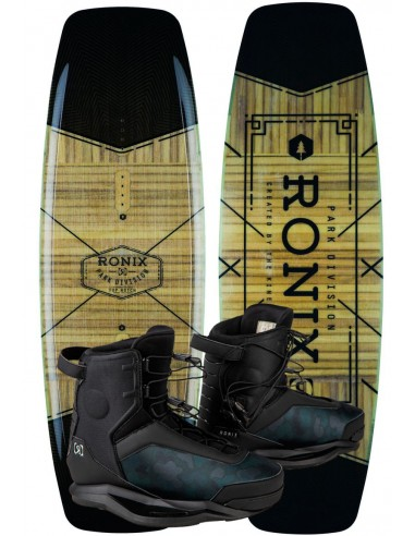Ronix Top Notch + Parks Cable Wake Park Package