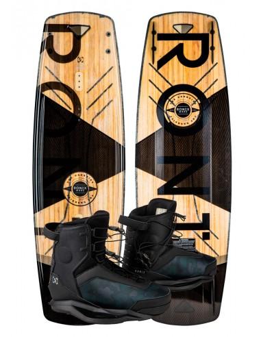 Ronix Darkside + Parks Boat Wakeboard Package