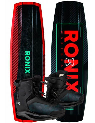 Pack Barco Wakeboard Ronix One ATR + Parks