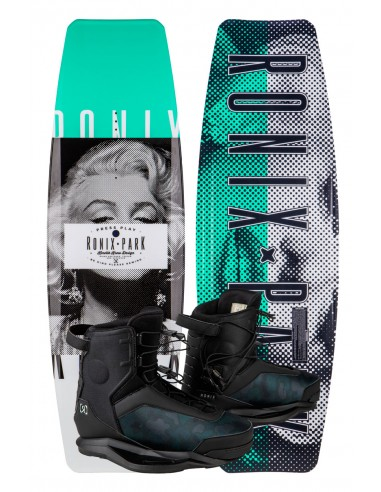 Ronix Press Play + Parks Cable Wakeboard Package