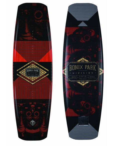 Tabla Wakeboard Ronix Kinetik Project - Flexbox 1 - 2018 Cable Wakeboard