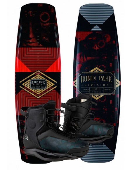 Ronix Kinetik - Flexbox 1- + Parks Cable Wakeboard Package