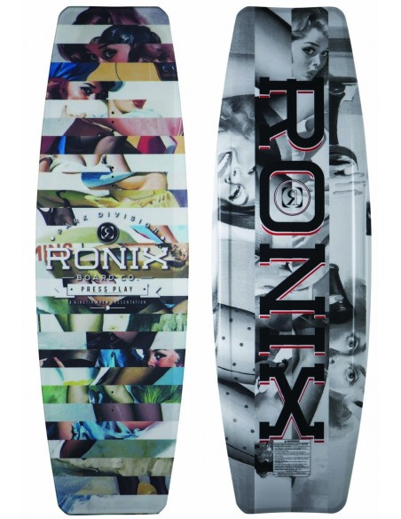 "2018 Ronix Press Play ATR ""S"" Edition - Vintage Pinup Wakeboard"