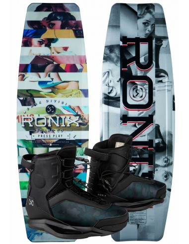 "Ronix Press Play ATR ""S"" + Ronix Parks Cable Wakeboard Package"
