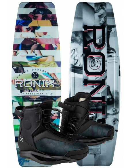 "Pack Cable Ronix Press Play ATR ""S"" + Ronix Parks"